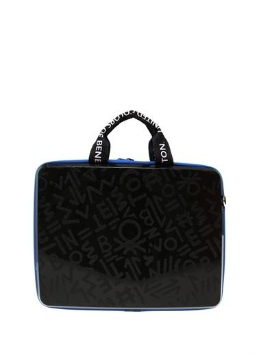 Benetton Laptop /Evrak Çantası Siyah